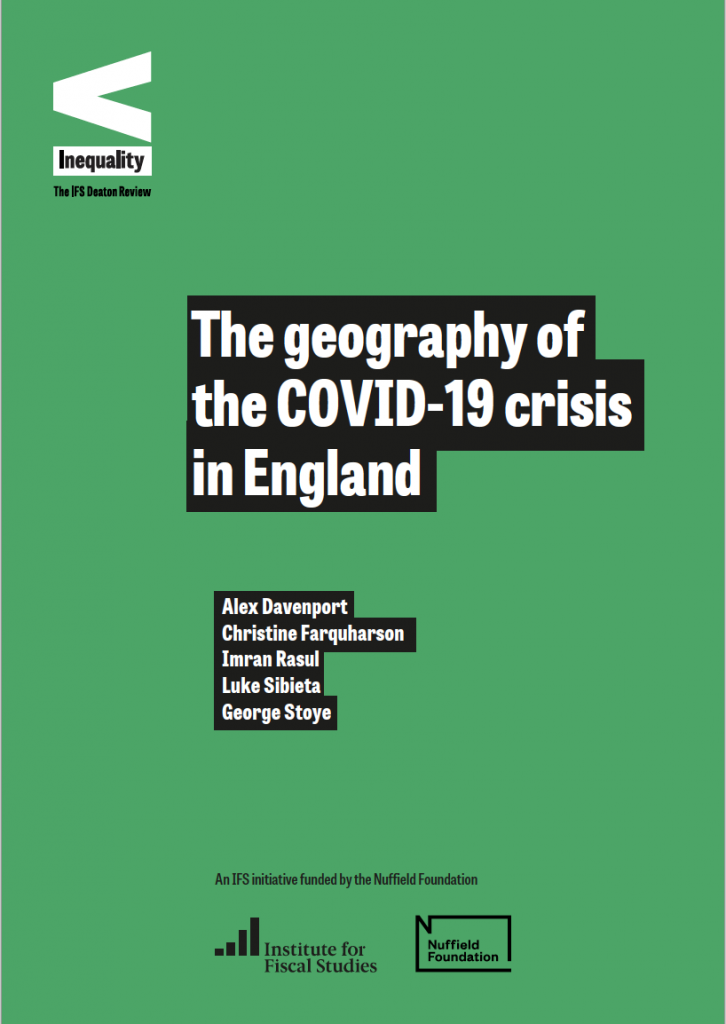 Geography of the Covid 19 Crisis