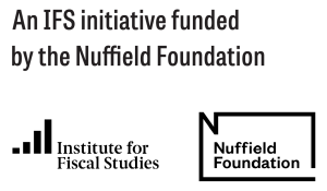 IFS and Nuffield partner logos