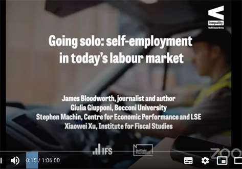Going solo self employed-ifs event image