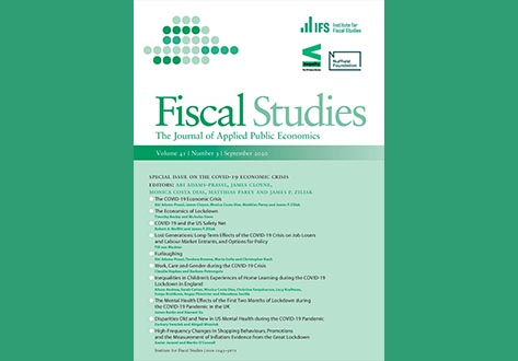 Fiscal Studies cover