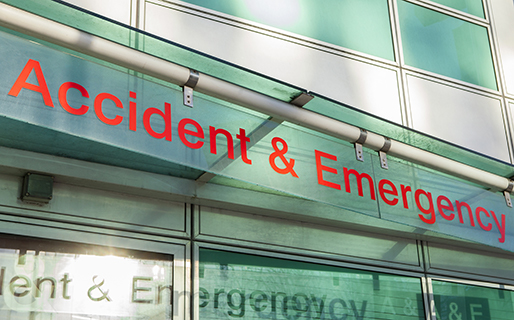 Accident and emergency building