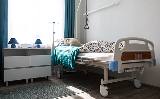 Care home bed