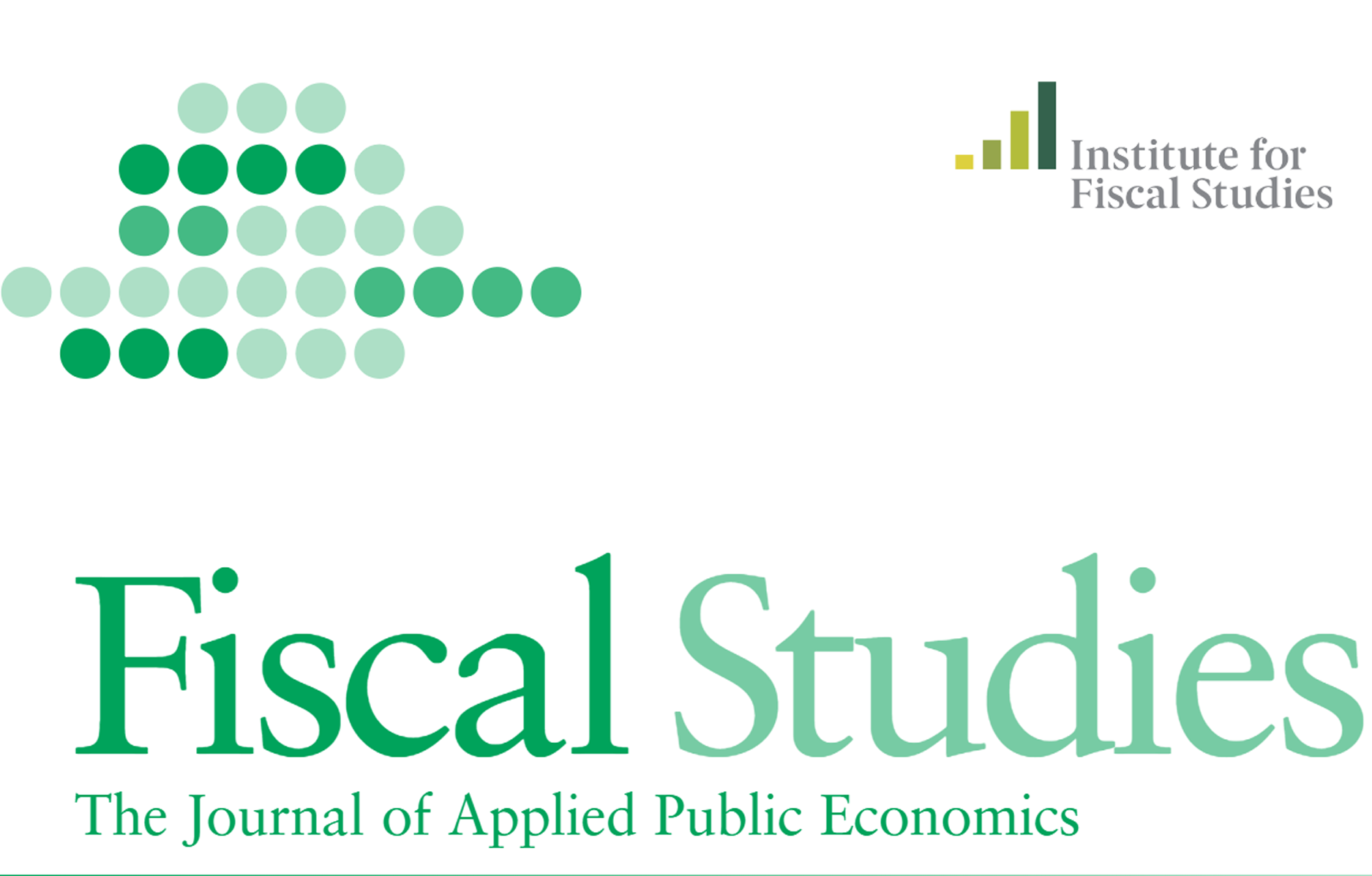 Fiscal Studies front cover