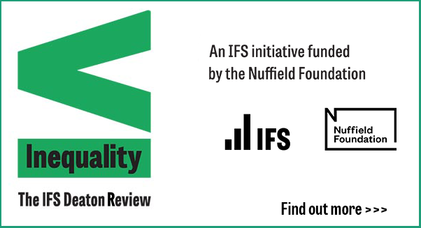 The IFS Deaton Review of Inequality