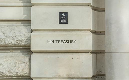HM Treasury building